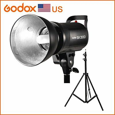 Godox SK300 300WS Smart Photography Strobe Camera Flash Studio Light Lamp Head