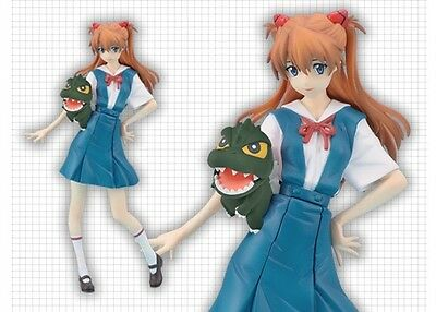 Sega Prize Godzilla vs Evangelion Asuka Langley School Uniform Premium PM Figure