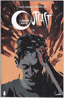 Outcast 1 1st Print VF/NM Kirkman of The Walking Dead Cinemax hit show