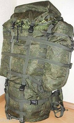 "Russia Russian Army Original 6B38 Raid BACKPACK ""RR"" EMR Camo with Cover 60L"