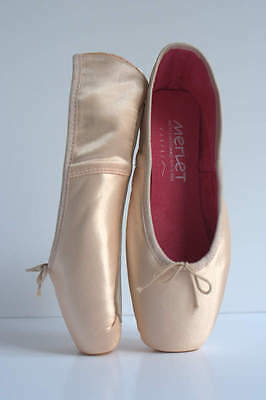 Merlet-Pietra n2 Ballet/Pointe Shoes Brand New Model Gaynor Minden, Ribbon Free!