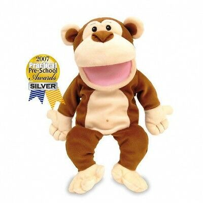 Tellatale Monkey Hand Glove Puppet Fiesta Crafts New