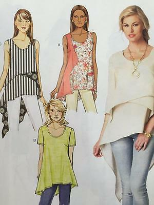 Butterick Sewing Pattern 6172 Misses/Ladies Top Tunic Size 6-14 New