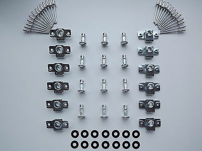 Dzus Fairing & Panel Fasteners Slotted Head 17Mm Stud Length 12 Pack