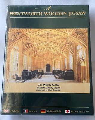 Wentworth 250 Piece Wooden Jigsaw Puzzle The Divinity School - New & Sealed