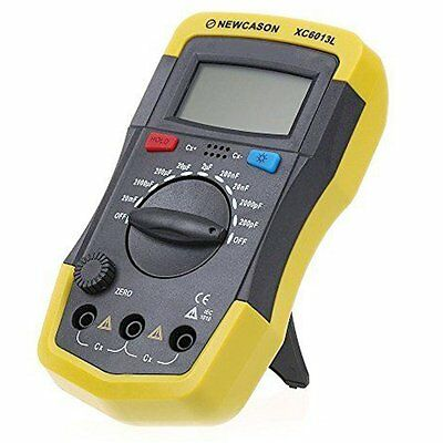 Signstek Digital LCD Battery Powered XC6013L Capacitance Capacitor Meter Tester