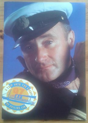 Phil Collins Dance Into The UK 1997 A Trip Into The Light programme Earls Court