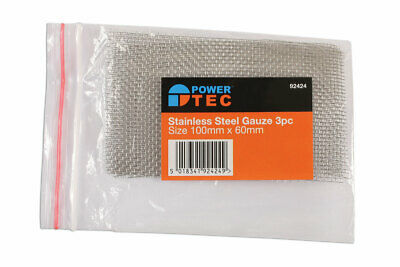 Power-TEC 92424 Stainless Steel Gauze 3pc