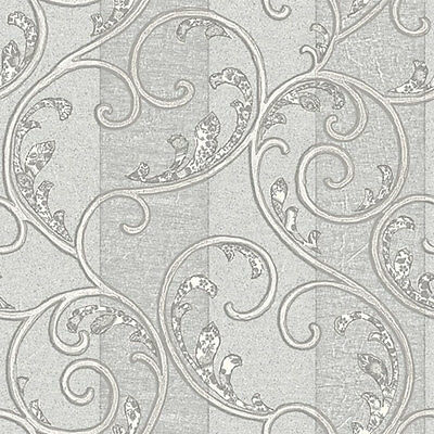 HQ TEXTURED 10m Roll Wall Paper FEATURED GREY Wallpaper EMBOSSED - CLASSIC 385F