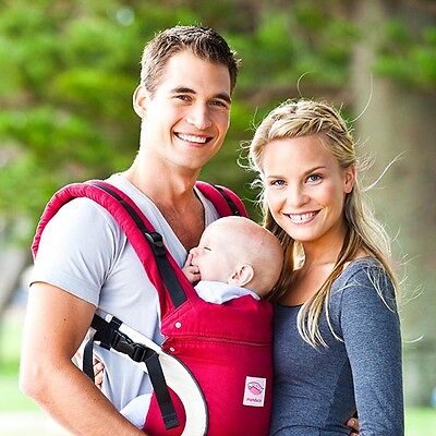 Boxed - Red #EUC# Manduca Baby/Child Sling/Carrier Rrp £99.95
