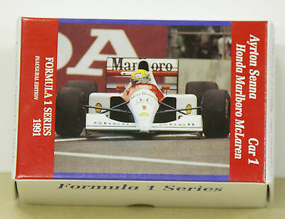 F1 1991 CARMS Formula One trading card set (sealed in original packaging) rare