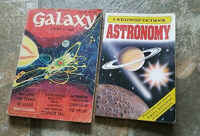 A Willowisp Factbook ASTRONOMY AND Galaxy book, 1970's &  80's paperback
