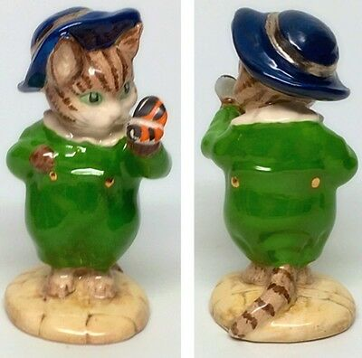"Green Suit- Beswick Beatrix Potter Figurine ""Tom Kitten and Butterfly"""