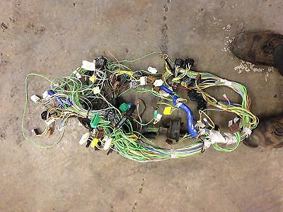 Citroen Ax Full Dash Wiring Loom