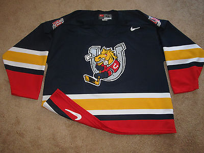 Barrie Colts OHL Junior Hockey Jersey-Adult XL-Nike