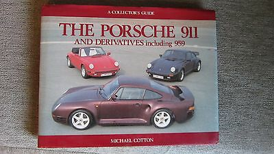 book  porsche 911 and derivatives including 959  michael cotton