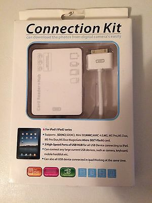 Connection Kit Card Reader for Apple iPad 1& 2