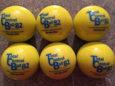 Total Control Softball Size 82...Weighted Training Balls...Box of 6