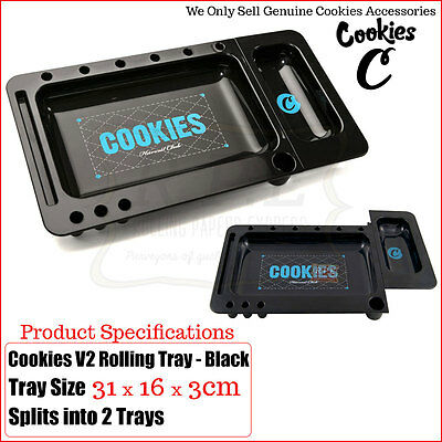 COOKIES Rolling Tray 2.0 Harvest Club - Colour Black Multi Listings