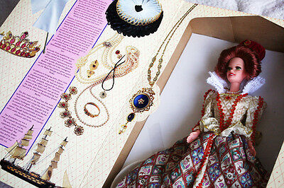 BARBIE as ELIZABETHAN QUEEN (1994, The GREAT ERAS COLLECTION)! BRAND NEW IN BOX!