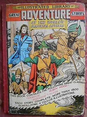 An Illustrated Library of Great Adventure Stories - Classics Illustrated UK