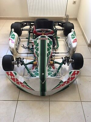 Tony kart chassis evr kz shifter '08