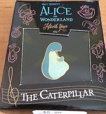 Disney Gallery Alice in Wonderland Caterpillar  Boxed LE Pin NEW