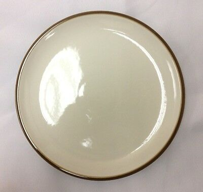 Denby Truffle Tea Plate Narrow Rim - New With Tags - Discontinued Item