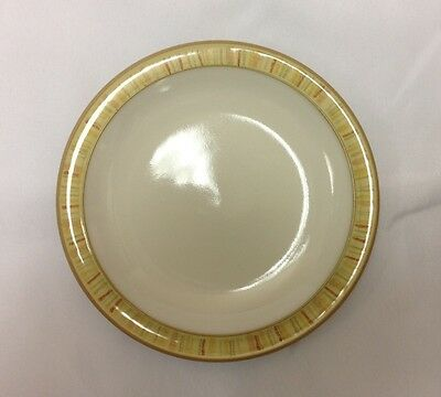 ~Denby Caramel Stripe Bread & Butter Plate - Brand New with Tags