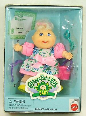 Cabbage Patch Kids Baby Collectable Mini Doll Heidi Patrice # 69221 NIB