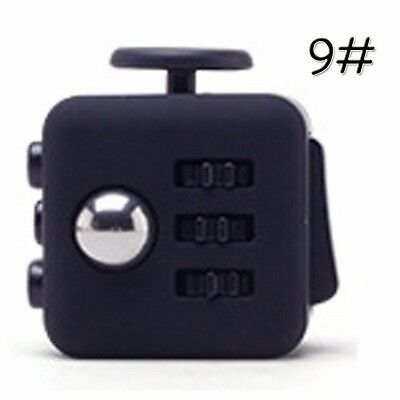 Black Stress Reliever Gifts Fidget Cube Relieves Anxiety and Stress