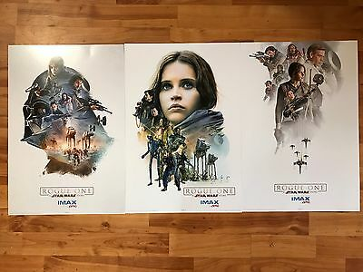 Rogue One: A Star Wars Story AMC IMAX Exclusive Poster Set