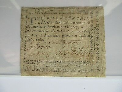 North Carolina Colonial Currency NC-108,1760,PCGS Very Fine 20 apparent