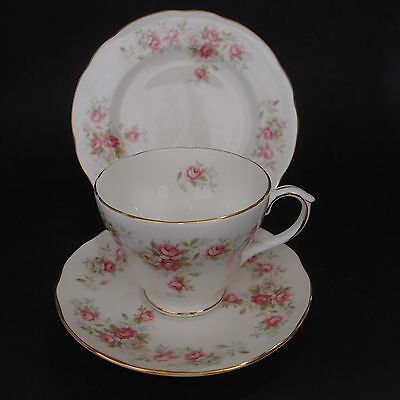 Duchess June Bouquet Trio Tea Cup, Saucer & Plate Vintage Rose Pattern (see+qty)
