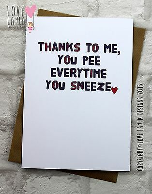 Greetings Card Birthday Card / Comedy/ Love Layla / Funny / Humour SZ