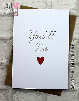 Greetings Card Birthday Card / Comedy/ Love Layla / Funny / Humour YD