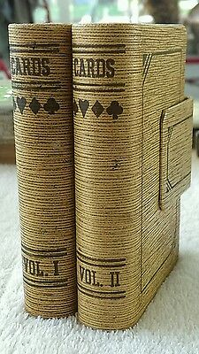 VINTAGE DURATONE IMPERIAL PALACE LAS VEGAS RESORT PLAYING CARDS  Vol. 1 & 2