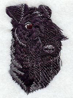 Kerry Blue Terrier Head Embroidery Patch Fixed Listing