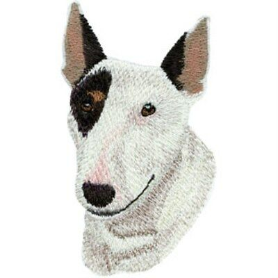 Bull Terrier Head (M)  Embroidery Patch