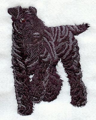 Kerry Blue Terrier(full body) Embroidery Patch
