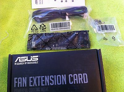 Asus Fan Extension Card For X99 , Z170 ,rampage V ,maximus Viii Series Original
