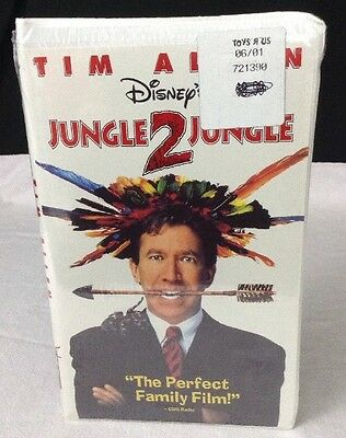 NEW & Sealed Jungle 2 Jungle (VHS, 1997) Tim Allen's Clamshell