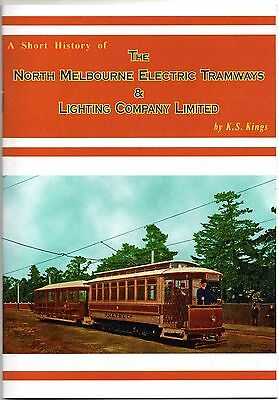 Book: A Short History of The North Melbourne Electric Tramways & Lighting Co Ltd