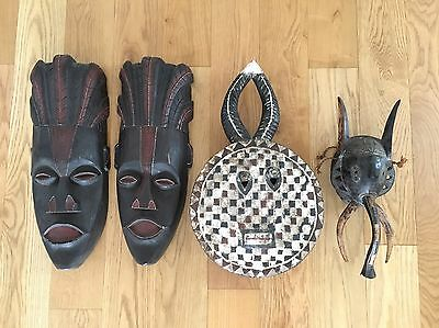 Handcrafted African Tribal Masks