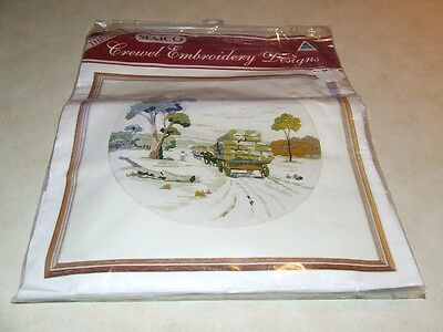 Semco Crewel Embroidery Kit - The Wool Harvest - New