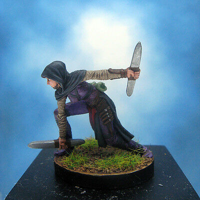 Painted Paizo Miniature Female Assassin