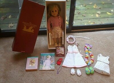 American Girl Doll Kit Kittredge w/ Outfits, Accessories, & Books (NEW IN BOX)