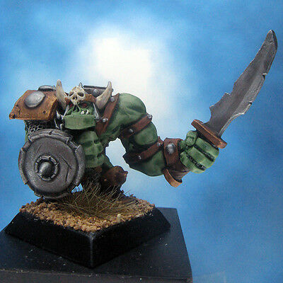 Painted Ral Partha MageKnight Miniature Orc Slasher I