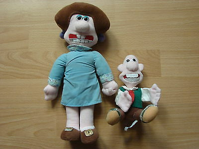 Wendolene + Wallace from Wallace & Gromit 1989 Vintage items