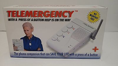 Telemergency Pro-Elite 700C w/ Wireless Pendant Feel Secure NEW No monthly fees